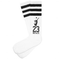 Trendy Volleyball Socks for Players or Volleyball Moms