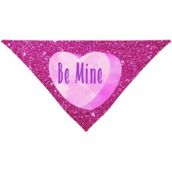 Be Mine Pink Candy Heart Fuschia