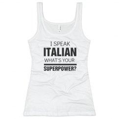 I Speak Italian