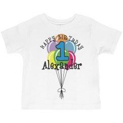 1 year old! Alexander