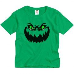 Evil Halloween Ghoul Face