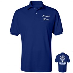 Custom Golf Pong Charity Polo