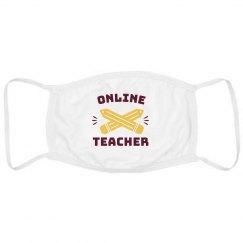 Online Teacher Face Mask