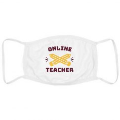 Online Teacher Face Mask