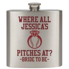 Baseball Bachelorette Pitches At Custom Gift