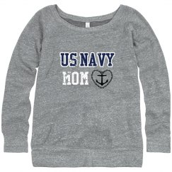 Navy Mom Sweater