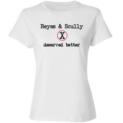 Reyes and Scully Deserved Better white