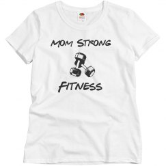 Mom Strong Graphic