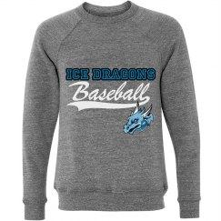 #23-Unisex Crewneck Sweatshirt-Bella Brand-Gray