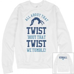 We Are Cheer Tumblers Cheerleading Sweater