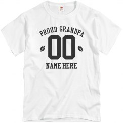Custom Proud Football Grandpa