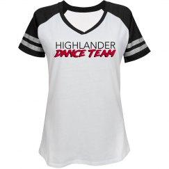 HDT V-neck sports tee