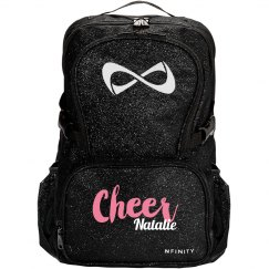 Nfinity Sparkle Backpack Cheer Bag With Custom Name