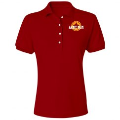 Red Friday Army Mom Polo