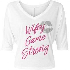 Wifey designer shirt