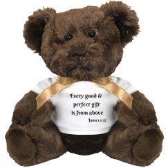 Snuggles the Celebration Bear