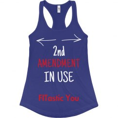 2nd Amendment In Use Blue