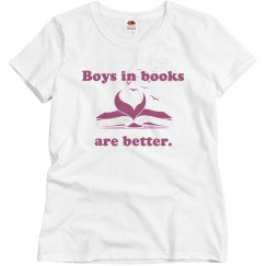 Boys in Books Misses