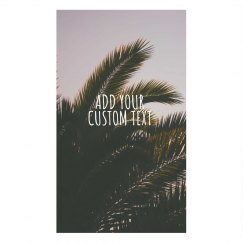Custom Palm Tree Face Cover
