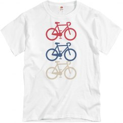 Primary Color Bike T-Shirt