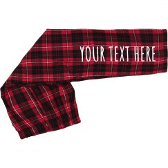 Add Your Design Youth Plaid PJ's
