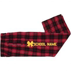 Custom Youth School Cheer Pajama Pants