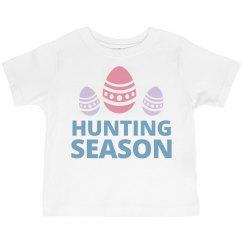Egg Hunting Season Toddler Tee