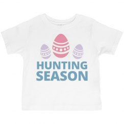Egg Hunting Season Toddler Tee