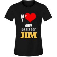 Heart beats for Jim