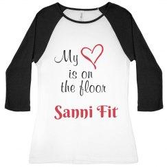 Sanni Heart on Floor