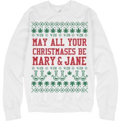 May Your Christmases Be Mary & Jane