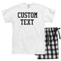 The Perfectly Customizable Pajama Set!