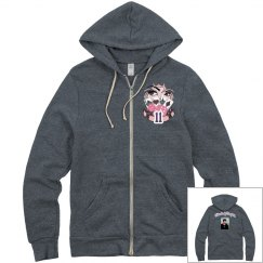 Texas Holdem Zip Up