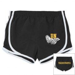 Tiger stripes (running shorts)
