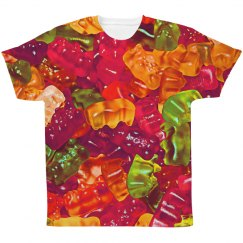 Gummy Candy Colorful Print