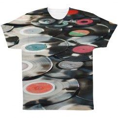 Vinyl Records Music Pattern