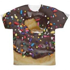 Sprinkle Donut Junk Food Print