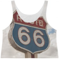 Route 66 Vintage Travel Print