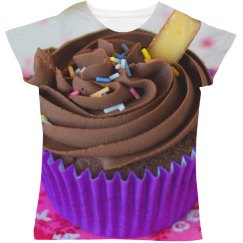 Cupcake All Over Print Women's Tee