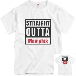 Straight Outta Memphis blue