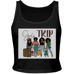 Girls Trip - Crop Top No Names - White Only