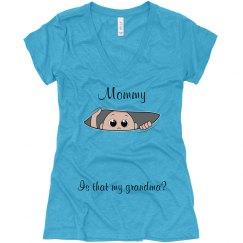 Mommy, is that my grandma