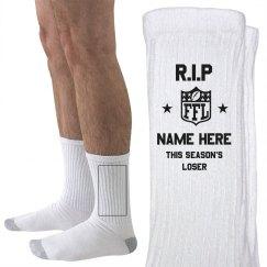 Funny Fantasy Loser Socks