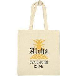 Aloha Destination Wedding Welcome Tote