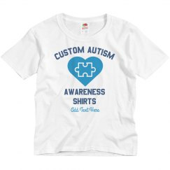 Custom Autism Youth Tee