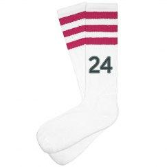 Player Number Socks