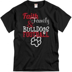 Faith, Family, & Bulldogs Football!