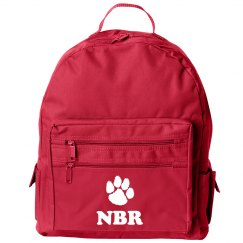 Custom Mascot & Initials School Bag