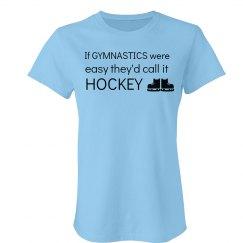 If gymnastics were easy..