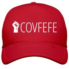 Covfefe Raised Fist Protest Hat